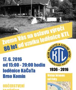 Pozvanka 80 let